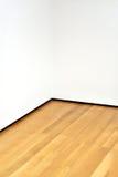 壁角空的内部空间 库存照片