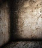 壁角空间 免版税图库摄影
