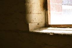 壁角窗口 免版税图库摄影