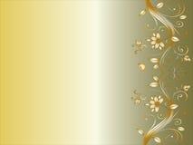 壁角设计花卉婚礼 免版税库存照片