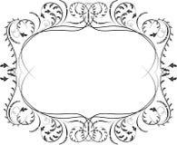 壁角设计要素花向量 库存照片