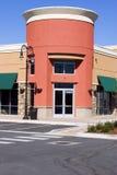 壁角购物中心餐馆存储主街上 库存图片