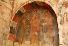 壁画圣尼古拉教会(土耳其) 免版税库存图片
