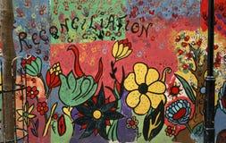 壁画在开普敦,南非 免版税库存图片