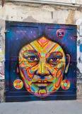 壁画在柏林 免版税库存图片