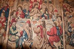 壁画在梵蒂冈 图库摄影