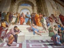 壁画在梵蒂冈 免版税图库摄影