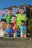 壁画在芝加哥 免版税图库摄影