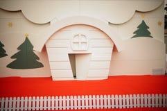 壁画是圣诞节题材  免版税库存图片