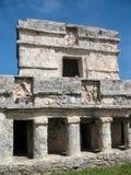壁画的寺庙 免版税库存照片