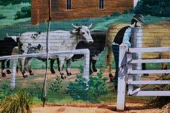 壁画Belgrave维多利亚细节 免版税库存图片