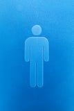 绅士和夫人洗手间标志 免版税库存图片