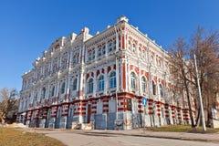 绅士汇编大厦(1877)。库尔斯克,俄罗斯 免版税图库摄影
