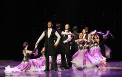 绅士的态度以色列民间舞蹈这奥地利的世界舞蹈 库存图片
