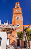 绅士雕象自由耶稣Atotonilco墨西哥路圣所  免版税图库摄影