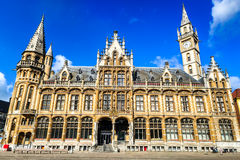 绅士,富兰德,比利时 免版税库存图片