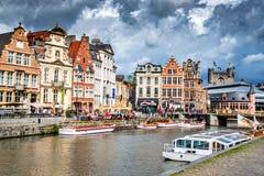 绅士,富兰德,比利时 免版税图库摄影