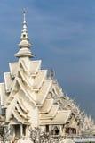 壮观地盛大白色寺庙 库存图片