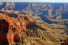 壮观峡谷全部的点 免版税库存照片