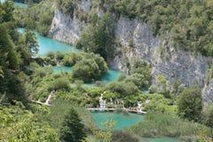 壮观的公园在克罗地亚 免版税图库摄影