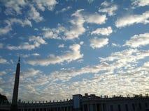 壮观的天空 免版税库存图片