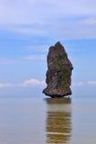 壮观的岩石风帆 免版税库存照片
