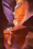 壮观的峡谷 库存照片