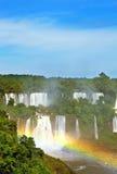 壮观的彩虹 免版税库存图片