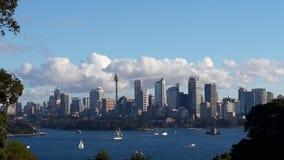 壮观的悉尼坚韧身分 免版税图库摄影