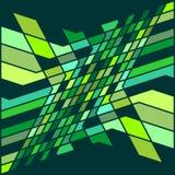 壮观的抽象样式淡色绿色图表形状纹理背景传染媒介例证 皇族释放例证