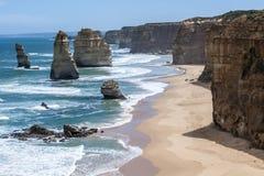 壮观的海岸 免版税库存图片