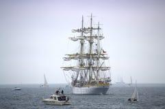 壮观的海运输传说 免版税库存照片