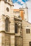 壮观的空白大教堂 图库摄影