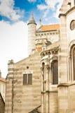 壮观的空白大教堂 库存照片