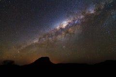 壮观的银河 免版税库存图片