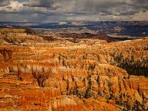 壮观的颜色布赖斯峡谷 免版税图库摄影