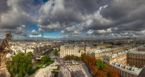 壮观的巴黎 库存照片