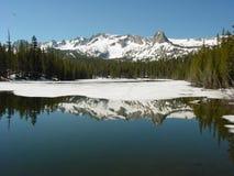 声势浩大的湖 图库摄影