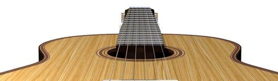 声学吉他 库存例证