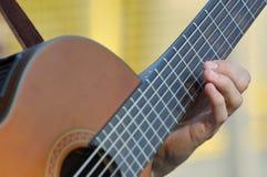 声学吉他 免版税库存图片