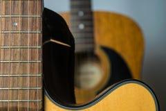声学吉他二 免版税库存照片