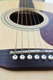 声学吉他 免版税图库摄影