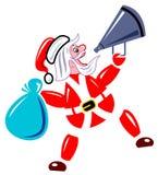 声明克劳斯・圣诞老人 向量例证