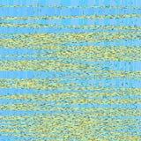 声波连续的样式,音频在蓝色小游艇船坞背景的技术不尽的样式 库存图片