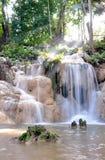 声浪东北peang泰国瀑布 库存照片