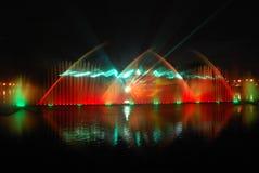 声音的喷泉 免版税库存照片