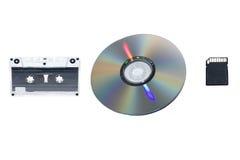 声音纪录的被隔绝的项目和演变 免版税库存照片