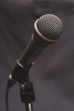 声音1个的话筒 免版税库存图片