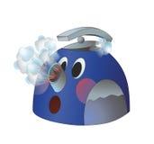 水壶煮沸 免版税库存图片