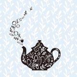 水壶用清凉茶 库存图片